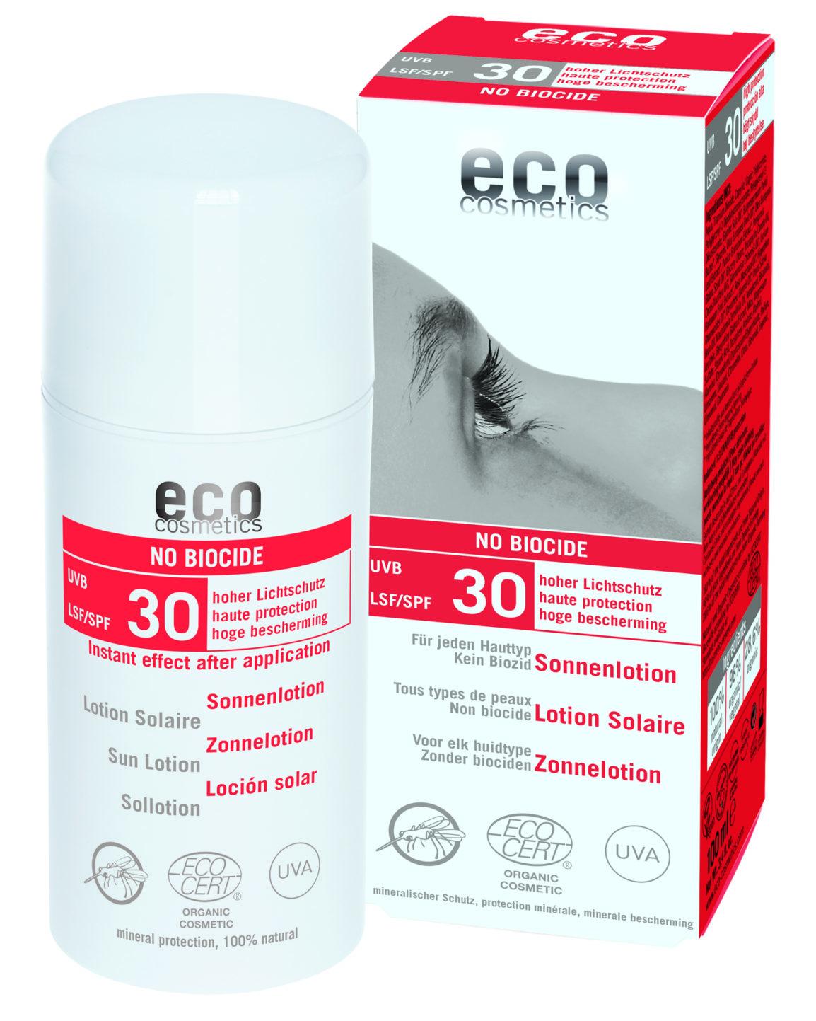 ECO NO BIOCIDE Sonnenlotion LSF 30
